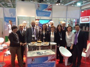 The Italian Health Care Industry stand
